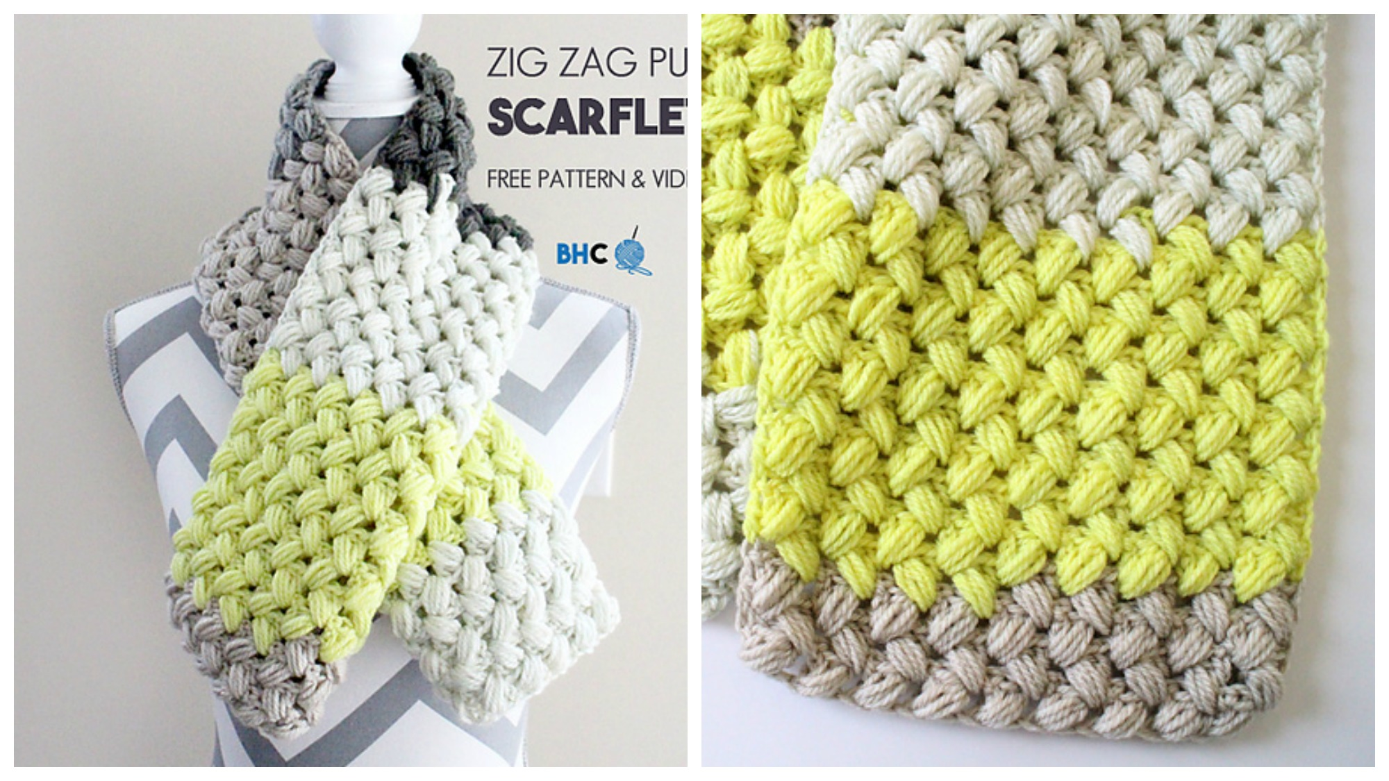 Crocheting Zig Zag Stitch : Crochet Zig Zag Puff Stitch - PRETTY IDEAS