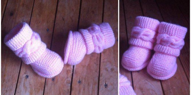 Crochet UGG Baby Boots