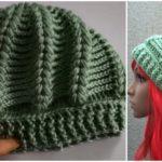 How to Crochet Swirled Beret Hat