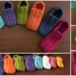 Crochet Pretty Home Slippers
