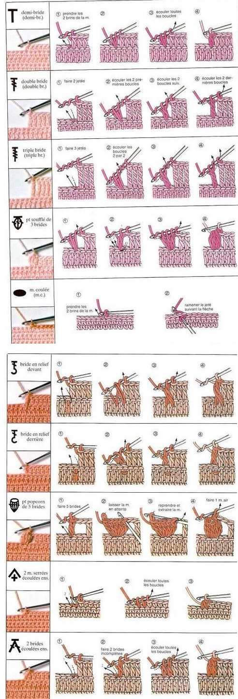 Fan image inside printable crochet stitch guide