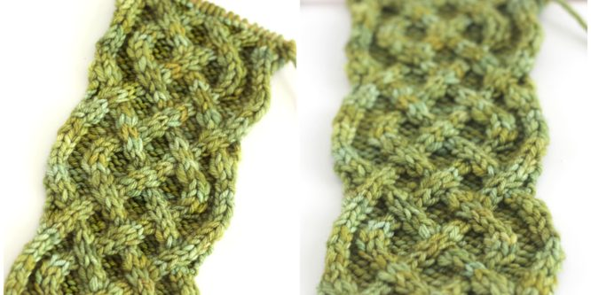 How to Knit the Celtic Cable