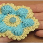 Crochet Six Petal Flower VIDEO Tutorial