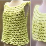 Crochet Pretty Blouse for Summer