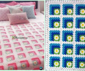 Beautiful Blanket With Squares – Video