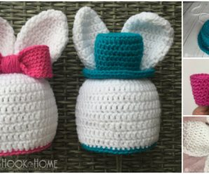 Cute Bunny Hat For Boys and Girls FREE Patterns