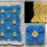 Beautiful Blanket with Motifs