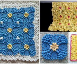 Beautiful Blanket with Motifs