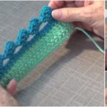 Crochet Square Edging