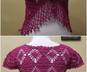 Crochet Pretty Bolero