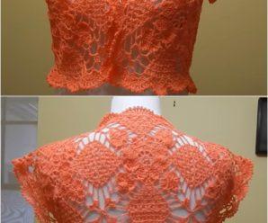 Crochet Bolero For Summer