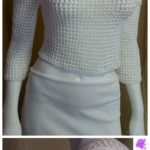 Crochet Dot Blouse