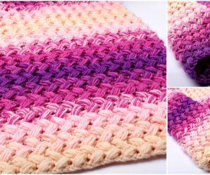 Crochet Zig Zag Blanket