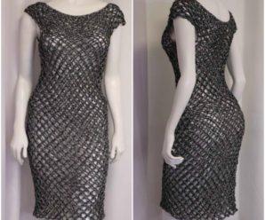 Crochet Elegant Dress
