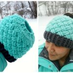Celtic Weave Messy Bun hat