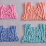 Crochet Pretty Bolero for Babies