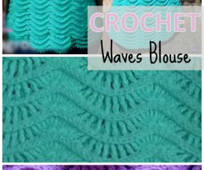 Crochet Waves Blouse