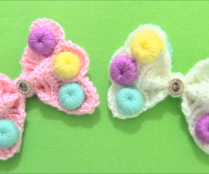 Crochet Bows With Candies