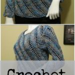 Crochet Sweater Blouse
