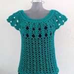 Crochet Easy Emerald blouse