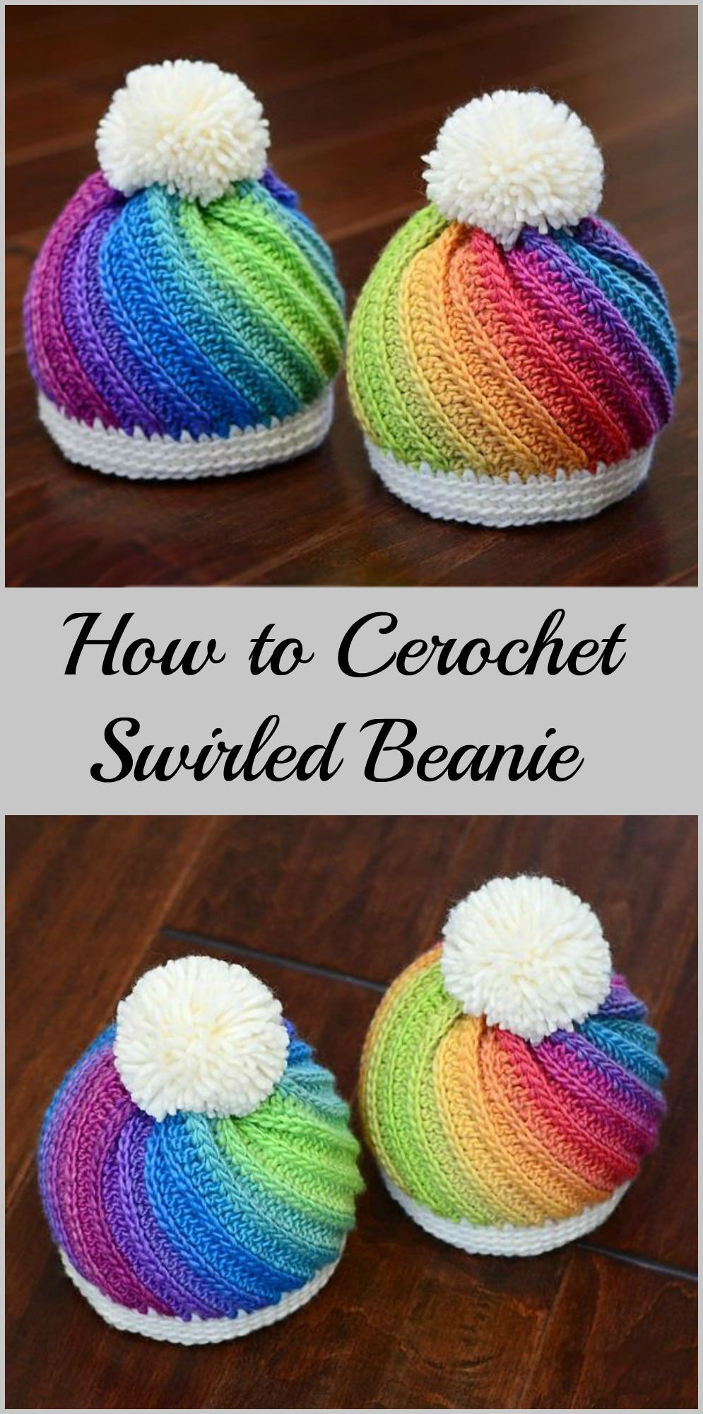 Crochet Swirled Beanie Pretty Ideas