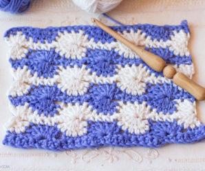 Starburst Stitch Crochet Tutorial