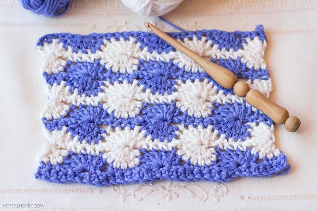 How To Crochet The Catherine Wheel Stitch Easy Tutorial 3 Pretty