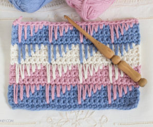 Spike Stitch Crochet Tutorial
