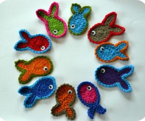Crochet Lots of Little Fishys