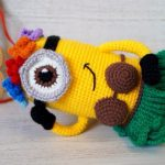 Crochet Hawaiian Minion