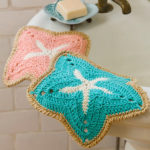 Crochet Starfish Potholders