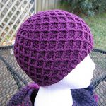 Crochet Diamond Ridges Hat