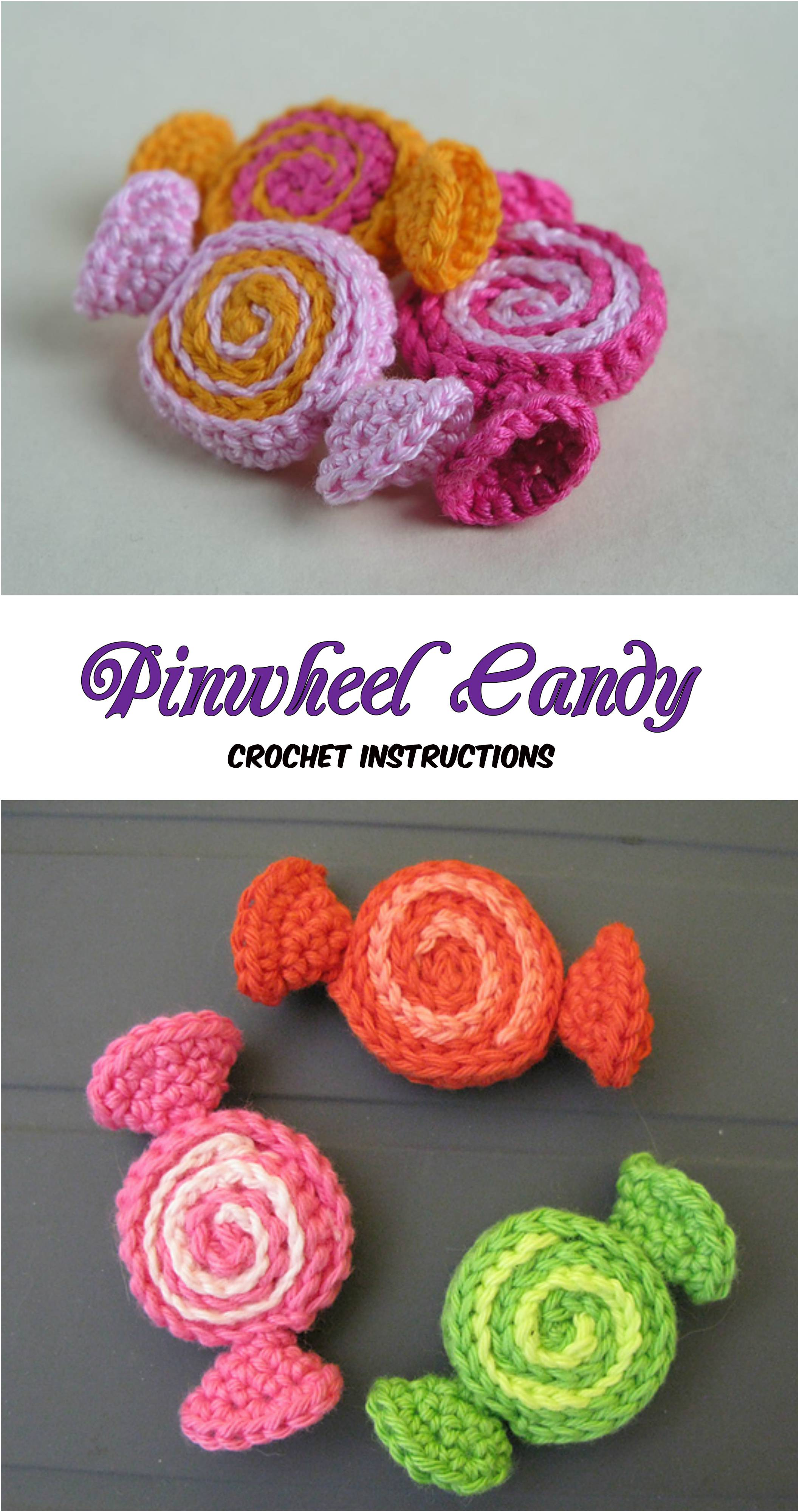 Crochet Pinwheel Candy Pretty Ideas