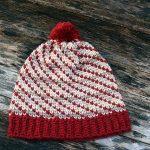 Crochet Swirly Heart Hat