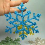 Crochet Pretty Snowflake