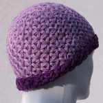 Crochet Triangle Star Stitch Hat
