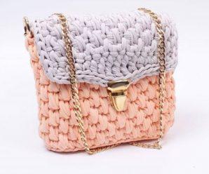 """Crochet """"Letter"""" Bag"""