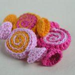 Crochet Pinwheel Candy