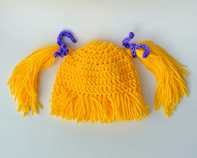 4527bc4b926 Crochet Babies Funny Hat - Pretty Ideas