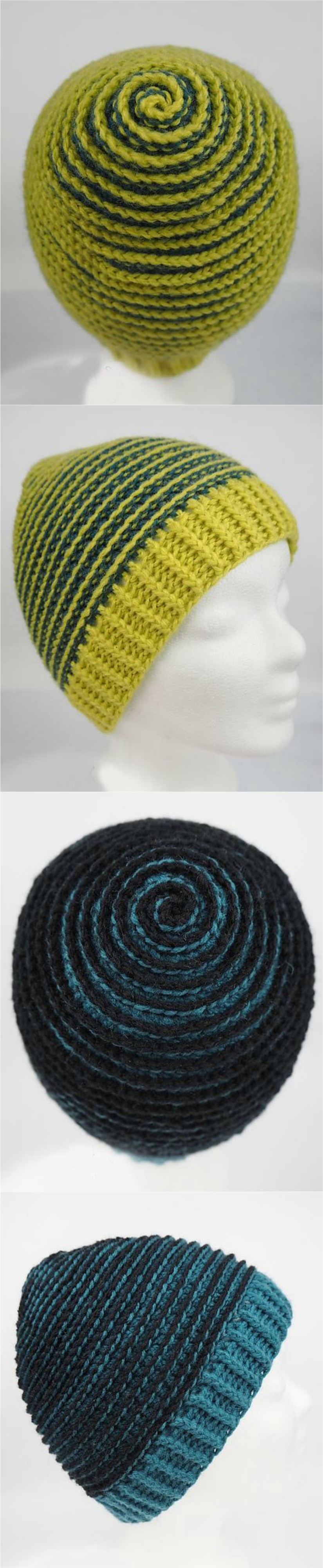 Crochet Spiral Beanie Pretty Ideas