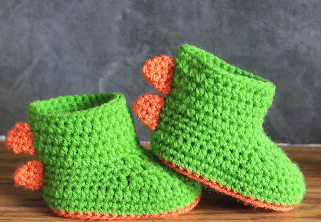 Dinosaur Baby Booties Pretty Ideas