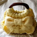 Crochet Ribbon Accent Purse