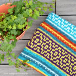 Crochet Mosaic Blanket