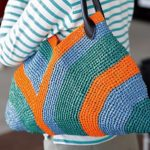 Crochet Colorful Handbag