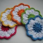 Crochet Springtime Coasters