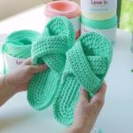 Crochet Mint Shoes