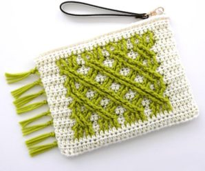 Crochet Irish Fling Clutch