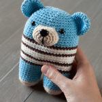 Crochet Two-legged Teddy