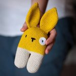 Crochet Two-legged Bunny
