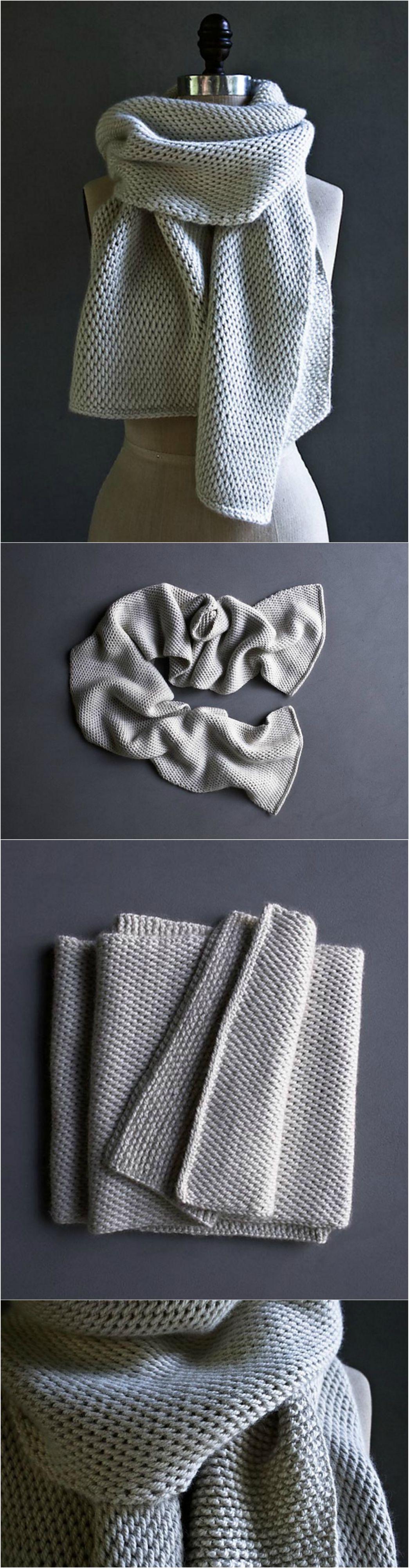 Tunisian Crochet Scarf Pretty Ideas